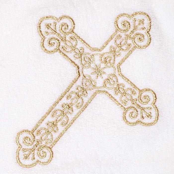Вышивка крест на крестильную рубашку 294