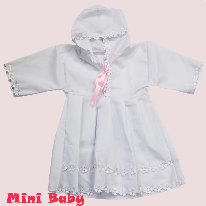 Крестильная рубашка для девочки 031р