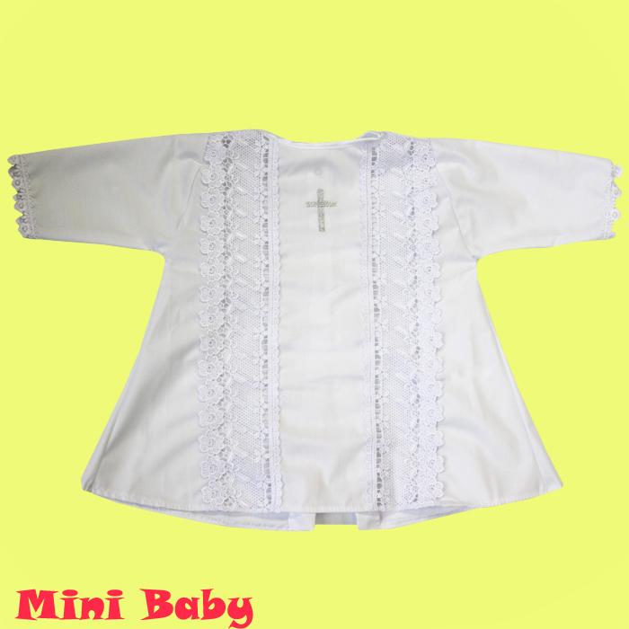 Крестильная рубашка универсальная 033