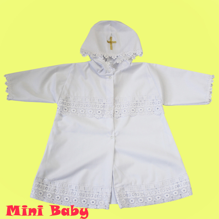 Крестильная рубашка универсальная 035