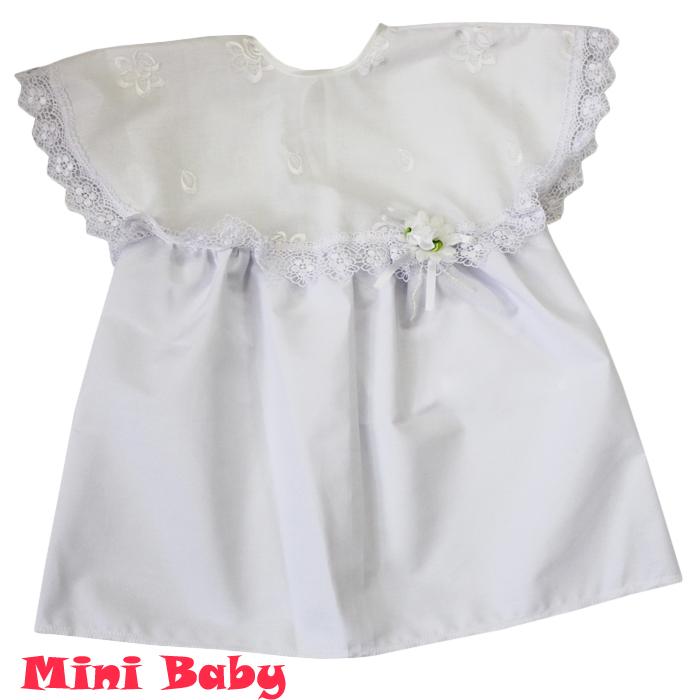 Крестильное платье для девочки 038