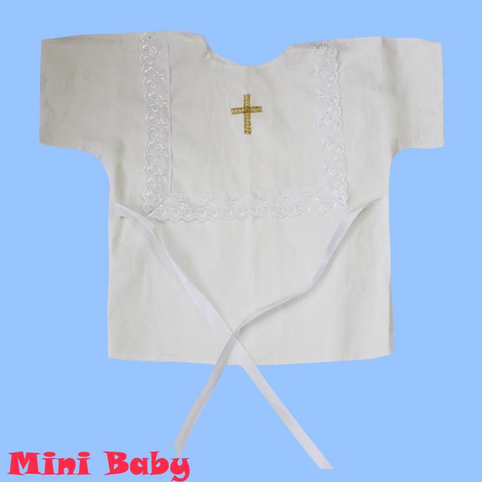 Крестильная рубашка универсальная 006
