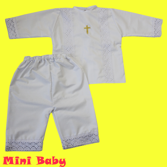 Крестильный комплект для мальчика 039