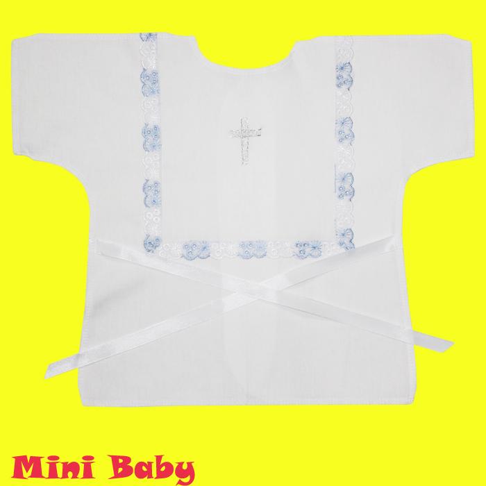 Крестильная рубашка для мальчика 006