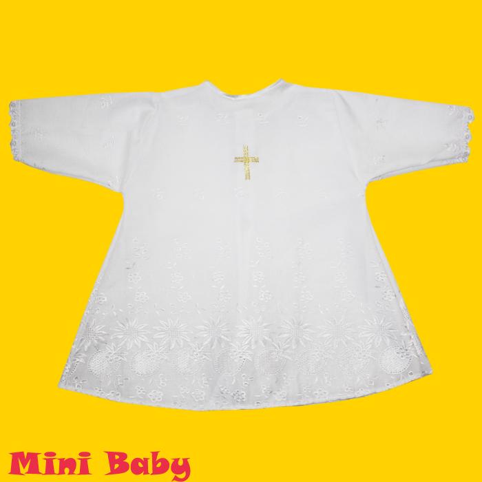 Рубашка для крещения универсальная 034