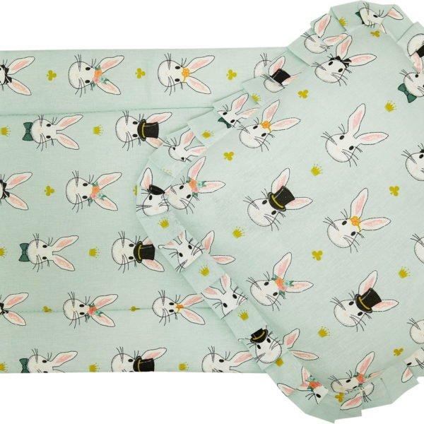 Комплект в коляску Кролики